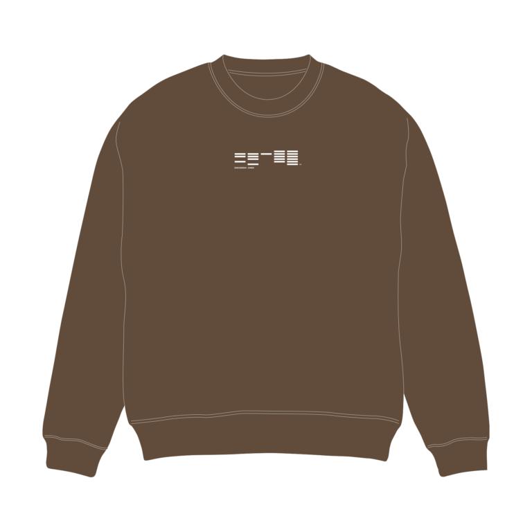 学芸大青春 ロゴスウェット(ダークブラウン)※2019年11月29日(金)~ アフターAGFにて期間限定販売