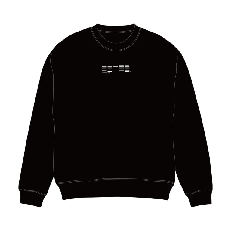 学芸大青春 ロゴスウェット(ブラック)※2019年11月29日(金)~ アフターAGFにて期間限定販売
