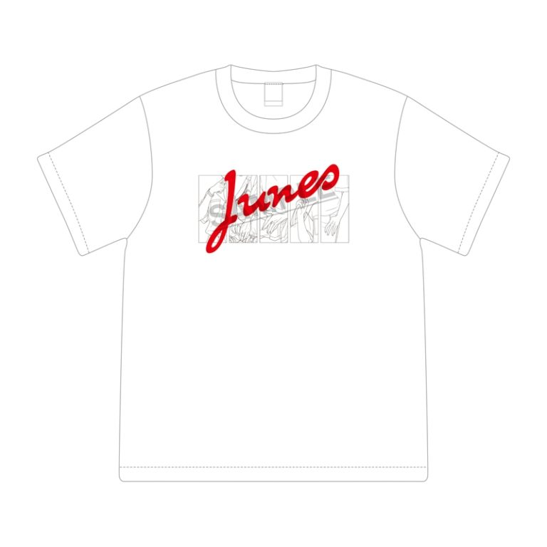 「じゅねストア 2021 SUMMER」ビッグシルエットTシャツ