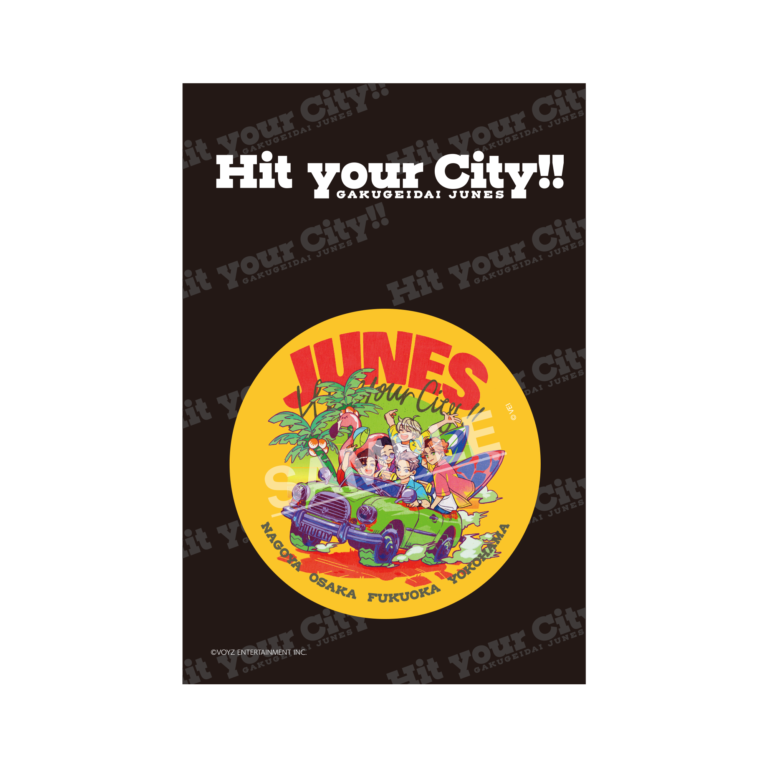 3rd LIVE TOUR「Hit your City!!」会場限定缶バッジ